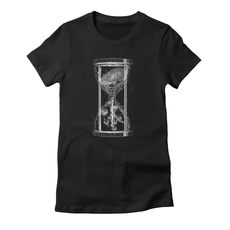Astro Hourglass Women's Fitted T-Shirt by