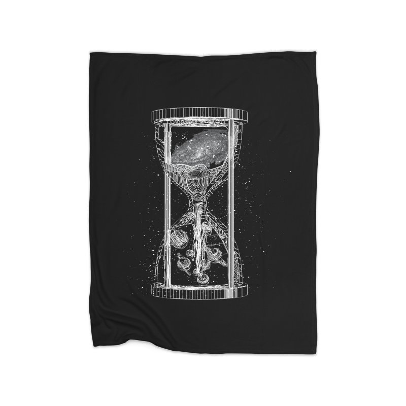 Astro Hourglass Home Blanket by