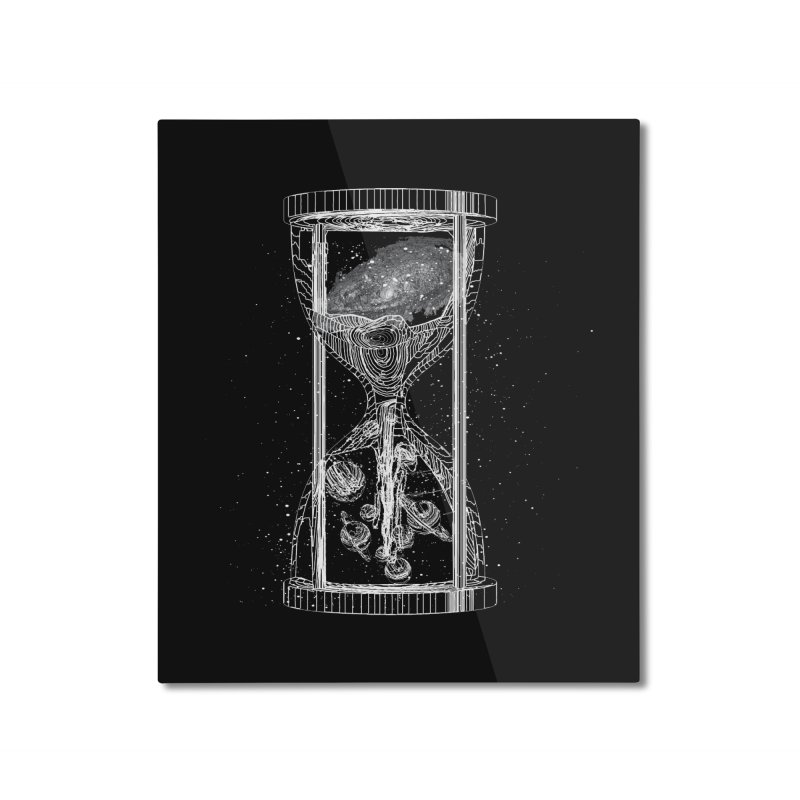 Astro Hourglass Home Mounted Aluminum Print by