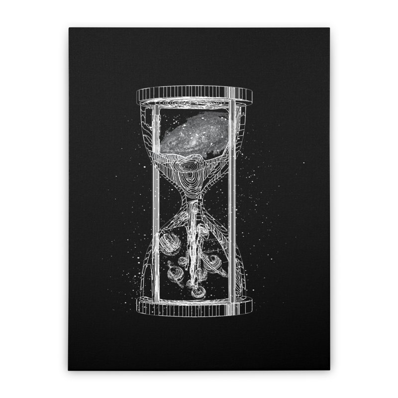 Astro Hourglass Home Stretched Canvas by