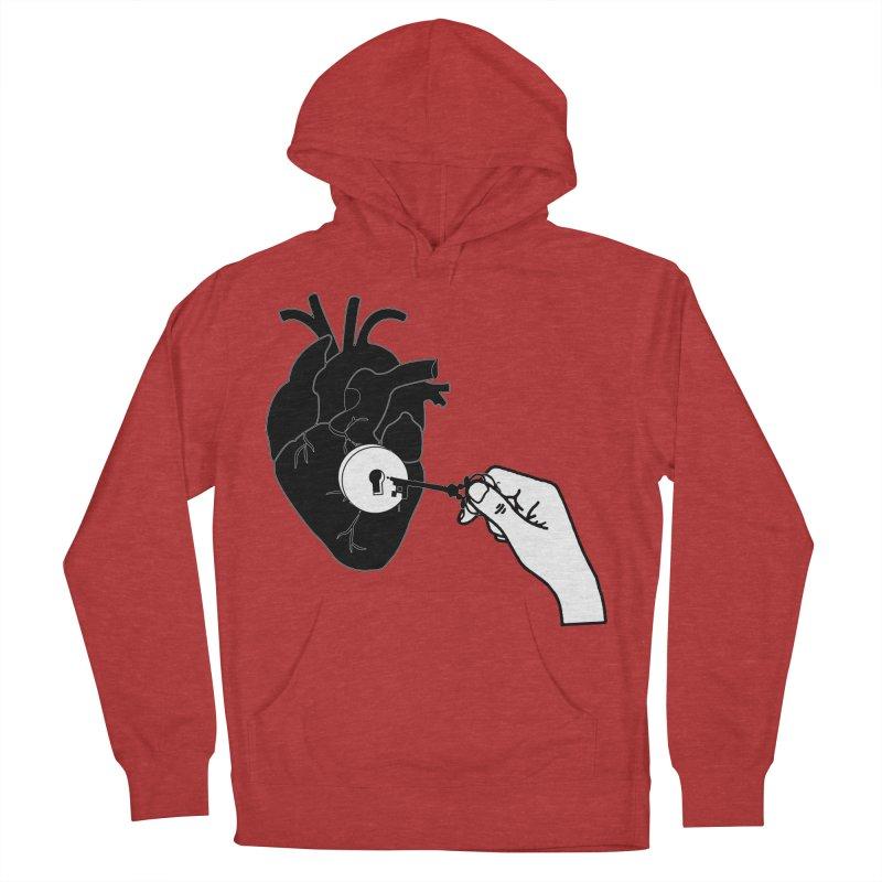 Unlock My Heart Women's Pullover Hoody by