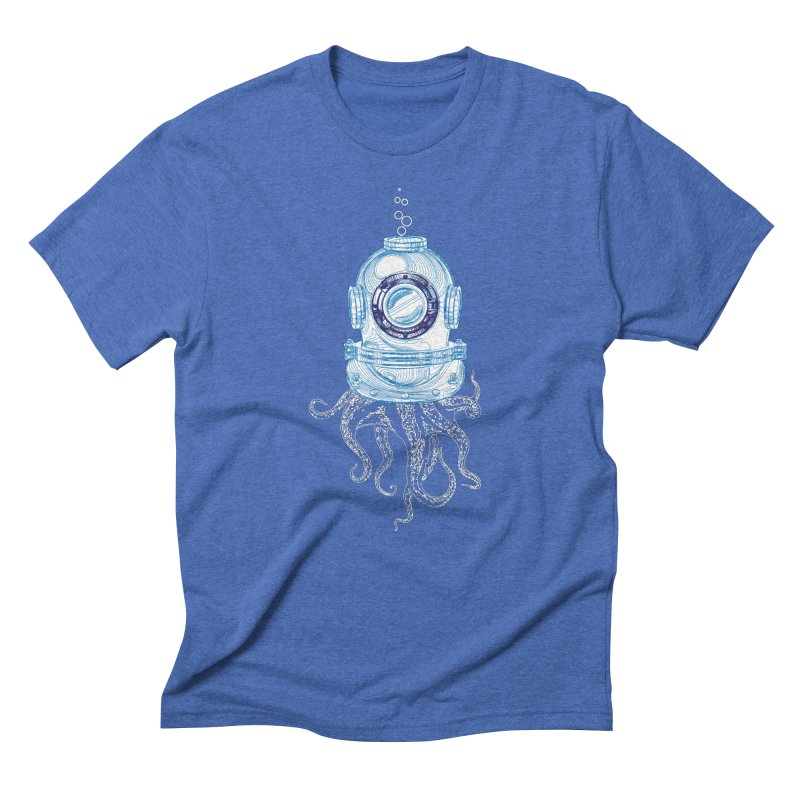 Deep Sea Octopus Men's T-Shirt by