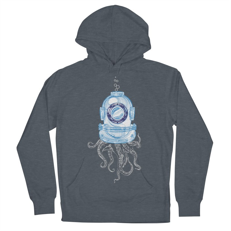 Deep Sea Octopus Women's French Terry Pullover Hoody by