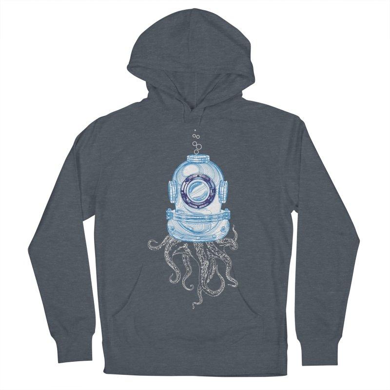 Deep Sea Octopus Men's Pullover Hoody by