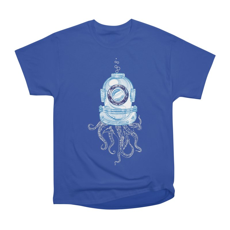 Deep Sea Octopus Women's Heavyweight Unisex T-Shirt by