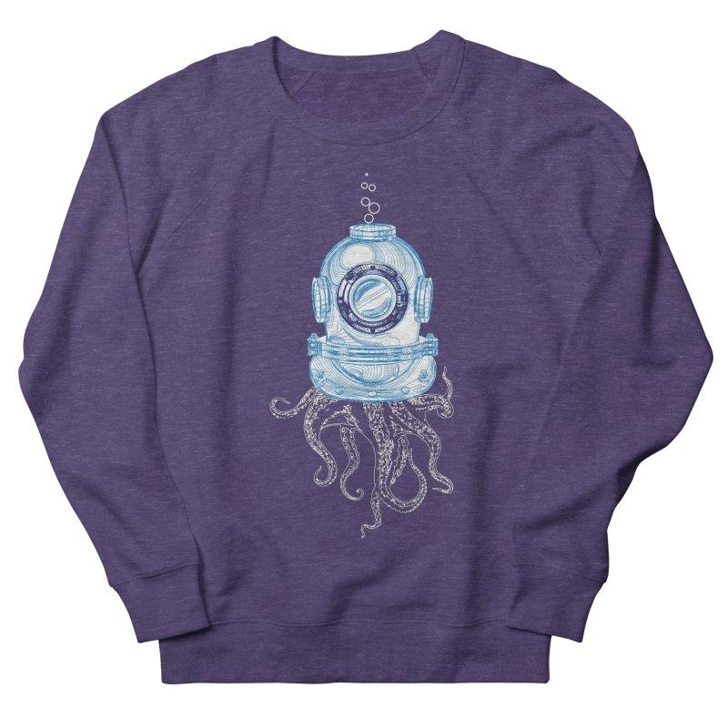 Deep Sea Octopus Men's French Terry Sweatshirt by