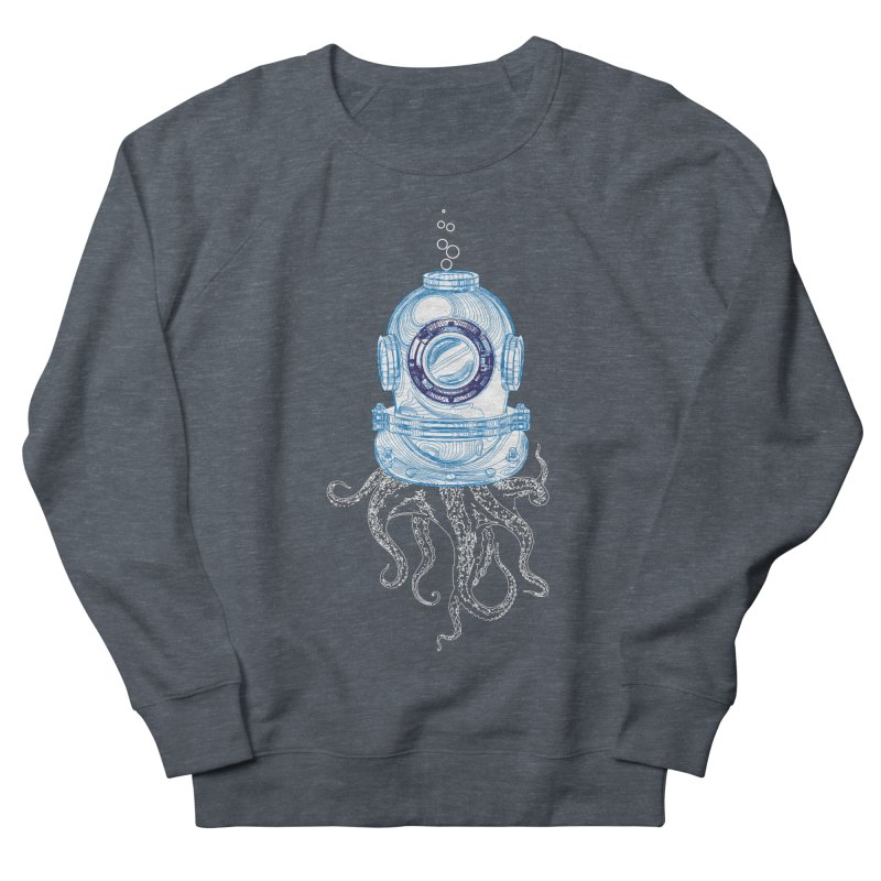 Deep Sea Octopus Men's French Terry Sweatshirt by