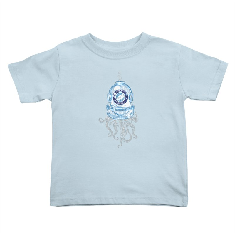 Deep Sea Octopus Kids Toddler T-Shirt by