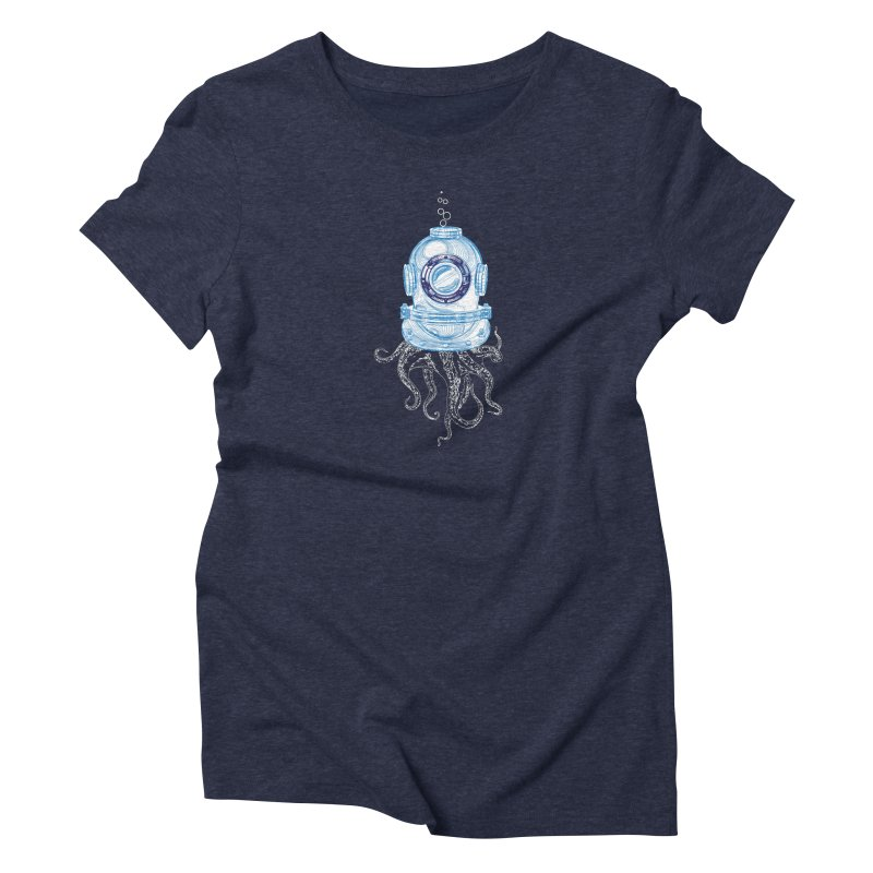 Deep Sea Octopus Women's T-Shirt by