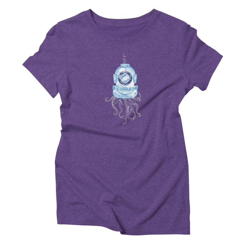 Deep Sea Octopus Women's T-Shirt by