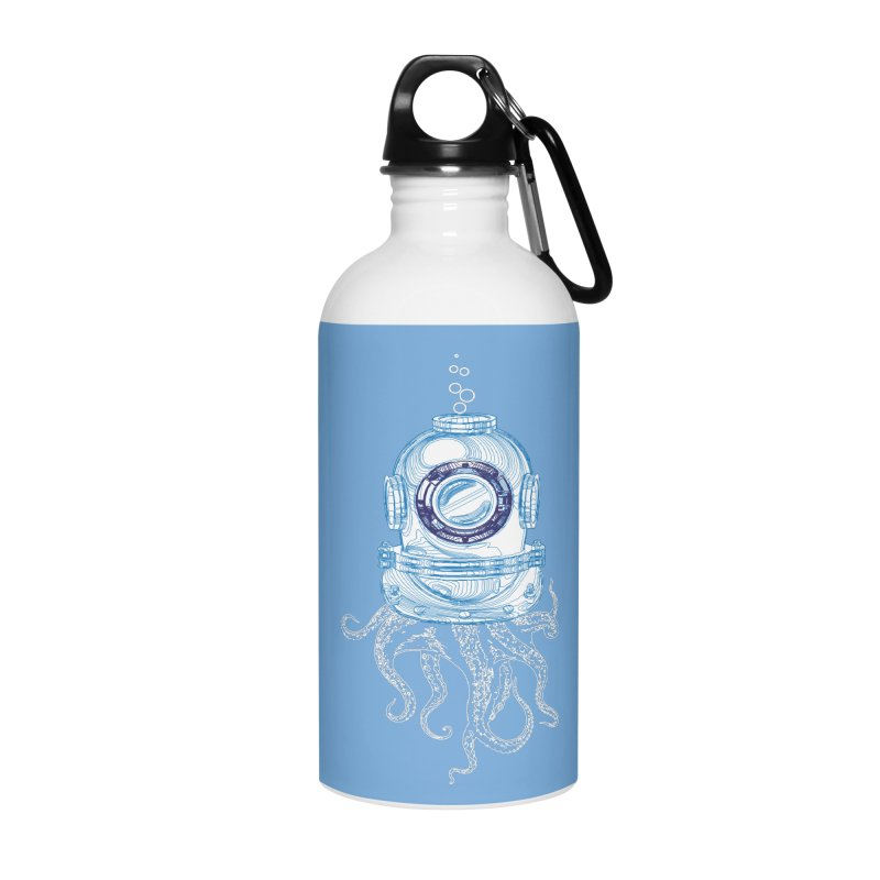 Deep Sea Octopus Accessories Water Bottle by