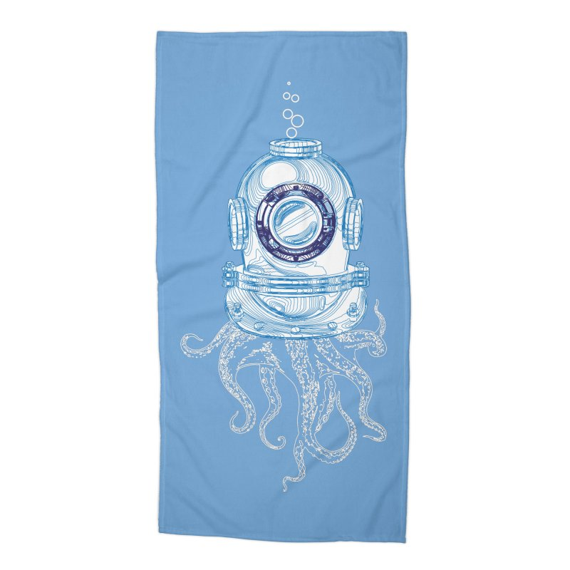 Deep Sea Octopus Accessories Beach Towel by