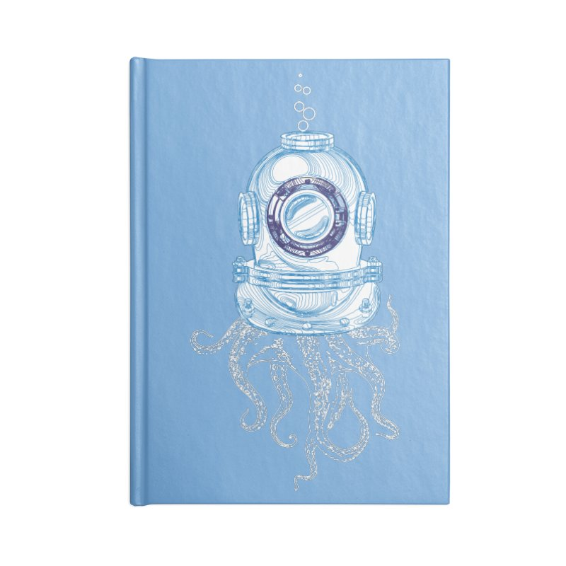 Deep Sea Octopus Accessories Notebook by