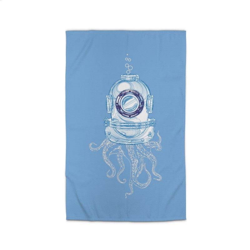 Deep Sea Octopus Home Rug by