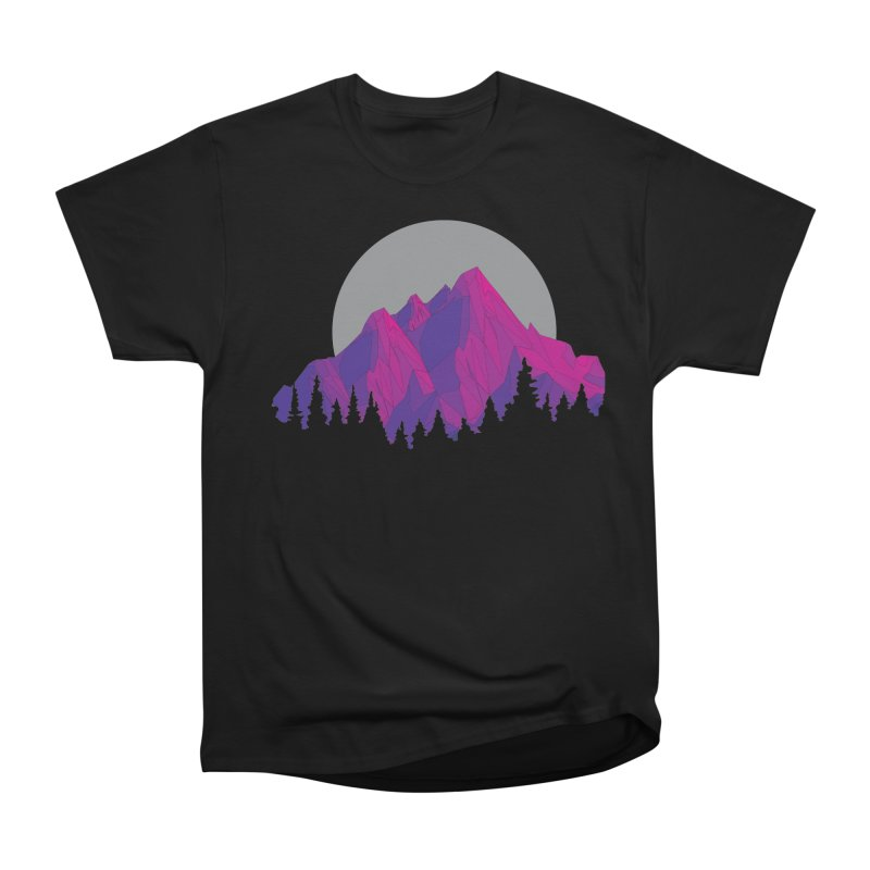 Purple Mountains Men's Heavyweight T-Shirt by