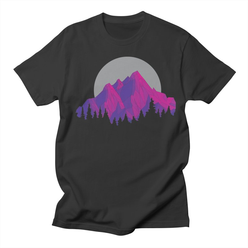 Purple Mountains Men's T-Shirt by