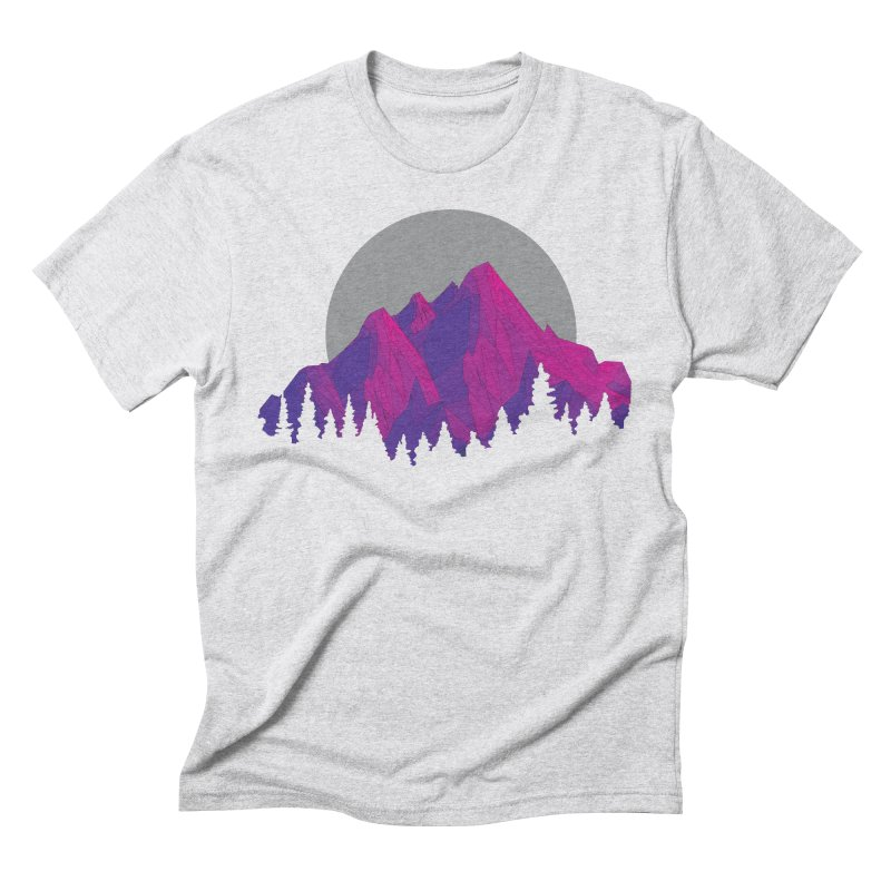 Purple Mountains Men's Triblend T-Shirt by
