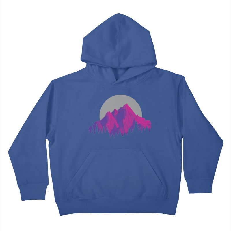 Purple Mountains Kids Pullover Hoody by