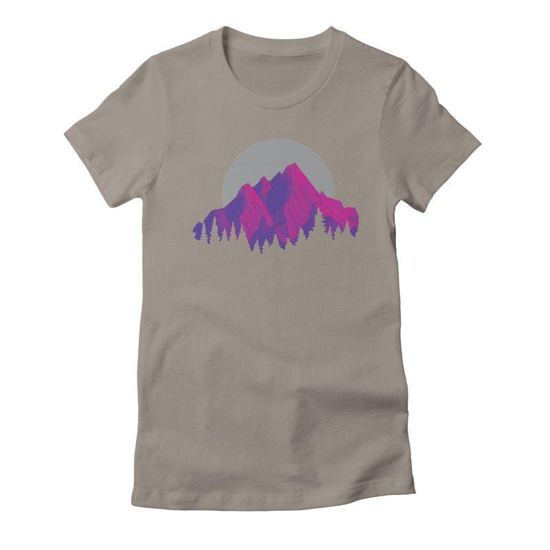 Purple Mountains Women's T-Shirt by