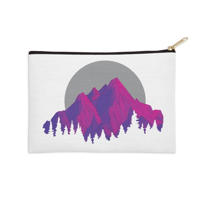 Purple Mountains Accessories Zip Pouch by