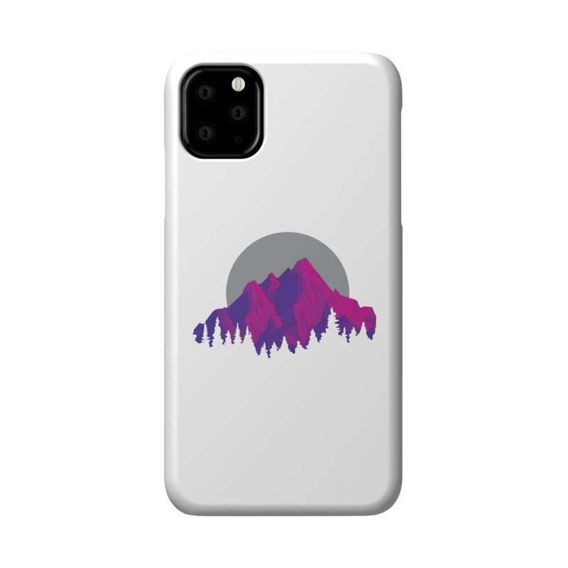 Purple Mountains Accessories Phone Case by