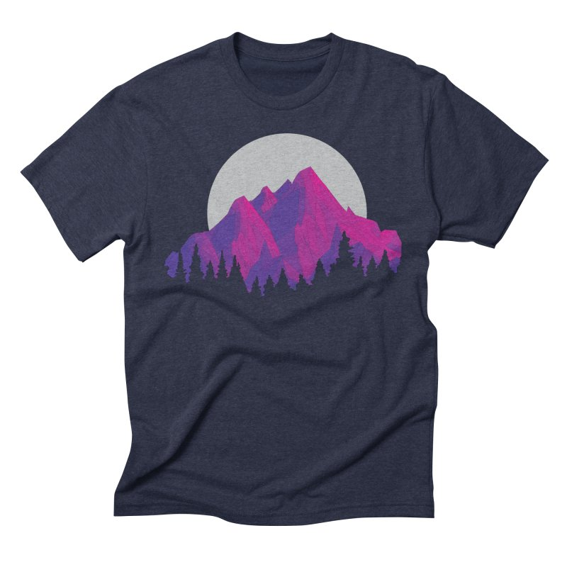 Purple Mountains Men's Triblend T-Shirt by