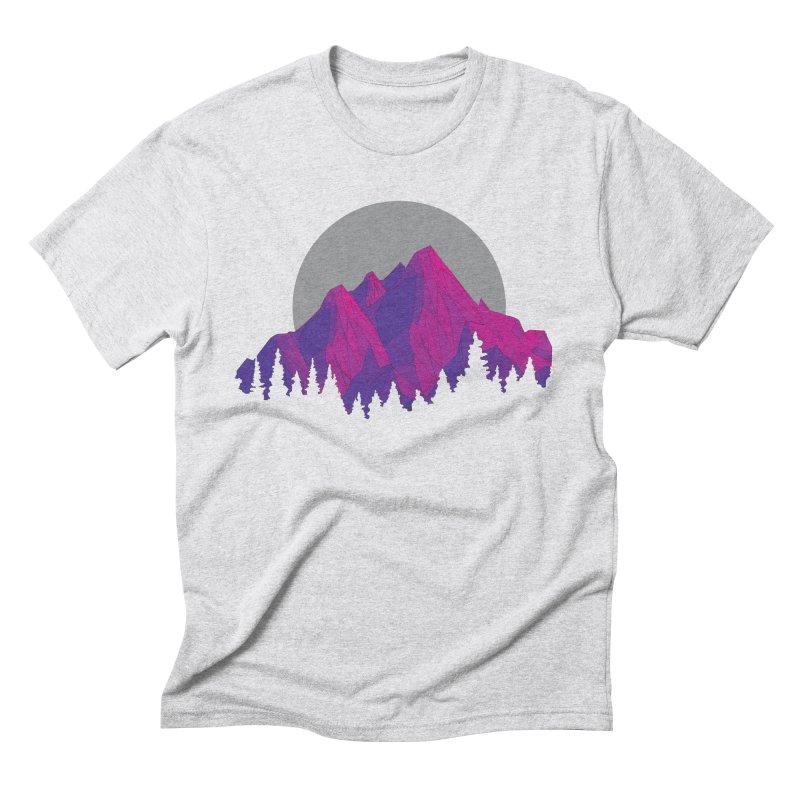 Purple Mountains Men's T-Shirt by