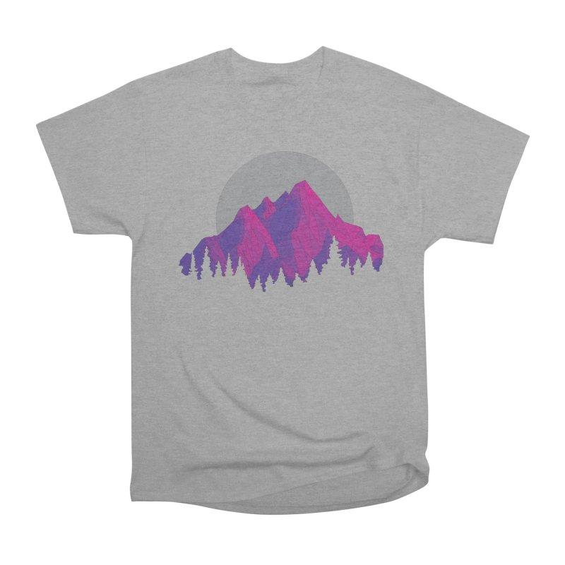 Purple Mountains Men's Heavyweight T-Shirt by