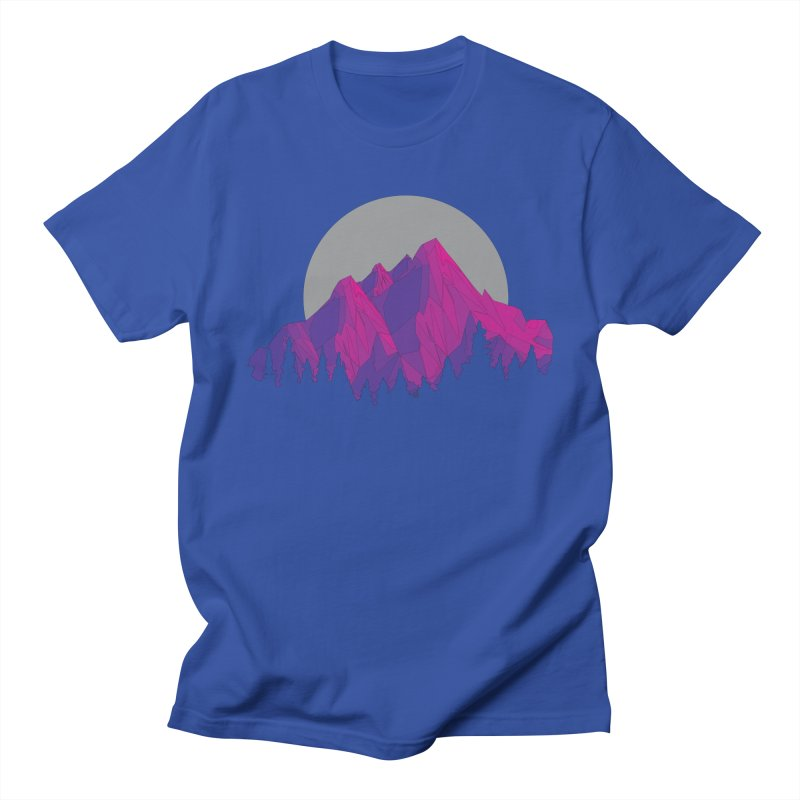 Purple Mountains Men's Regular T-Shirt by