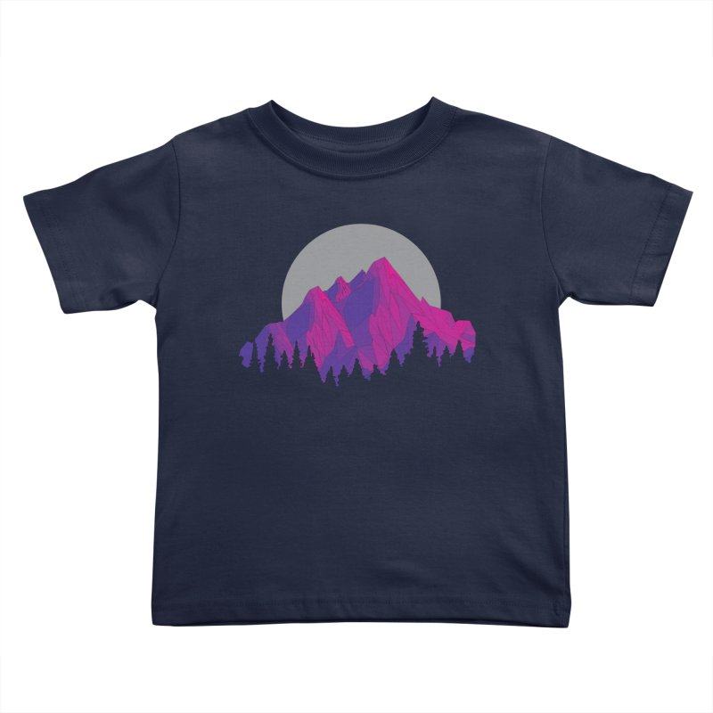 Purple Mountains Kids Toddler T-Shirt by