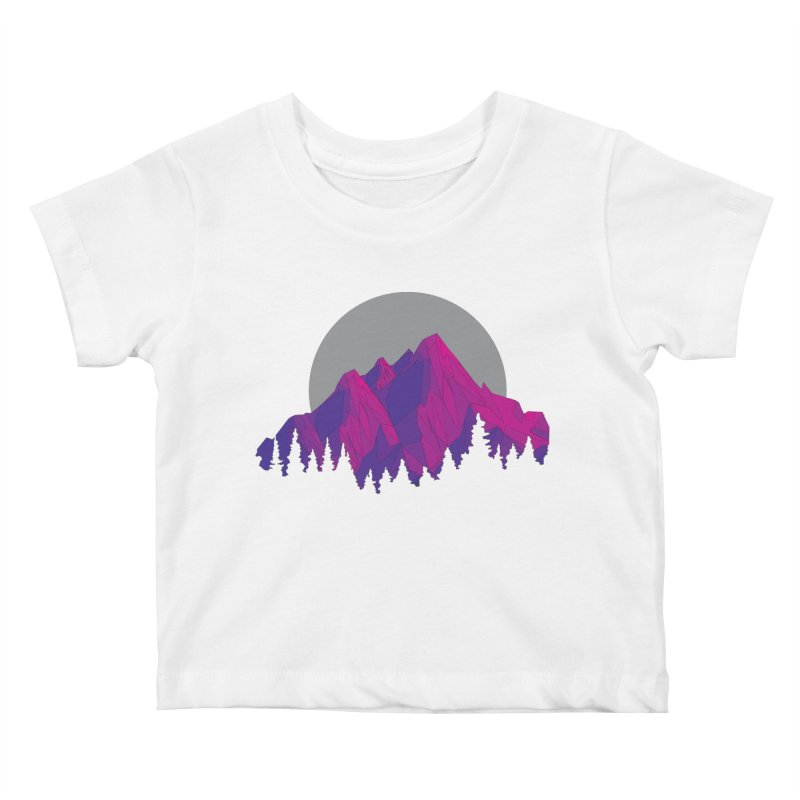 Purple Mountains Kids Baby T-Shirt by