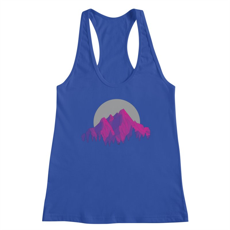 Purple Mountains Women's Racerback Tank by