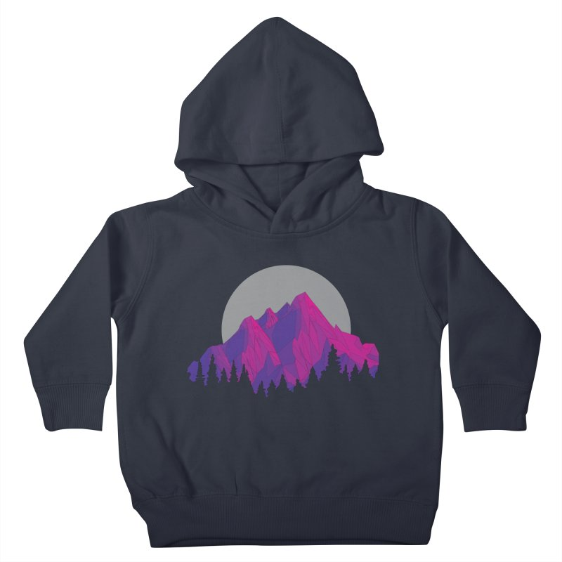 Purple Mountains Kids Toddler Pullover Hoody by