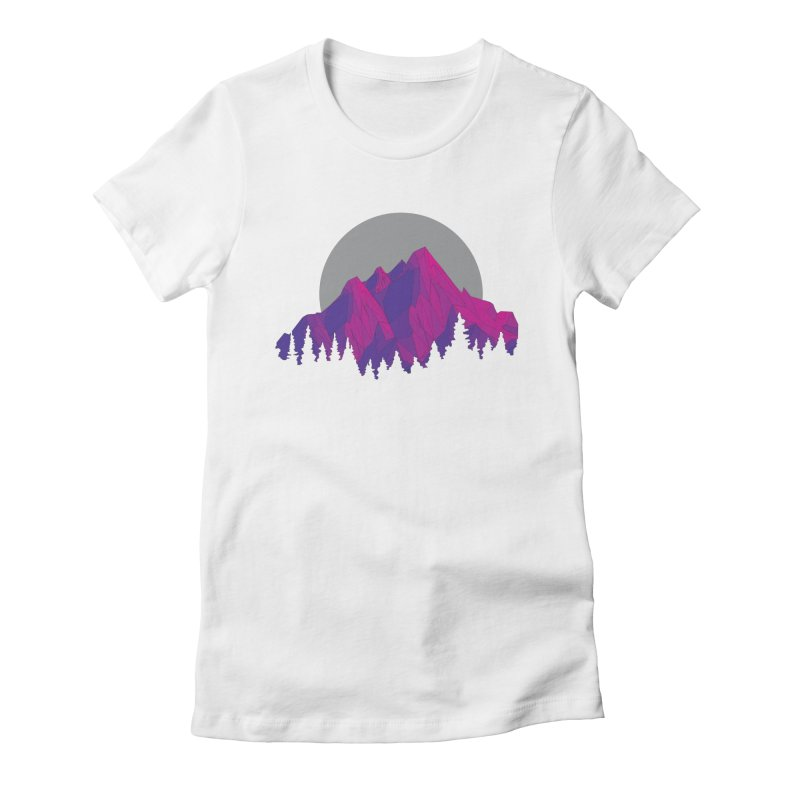 Purple Mountains Women's Fitted T-Shirt by