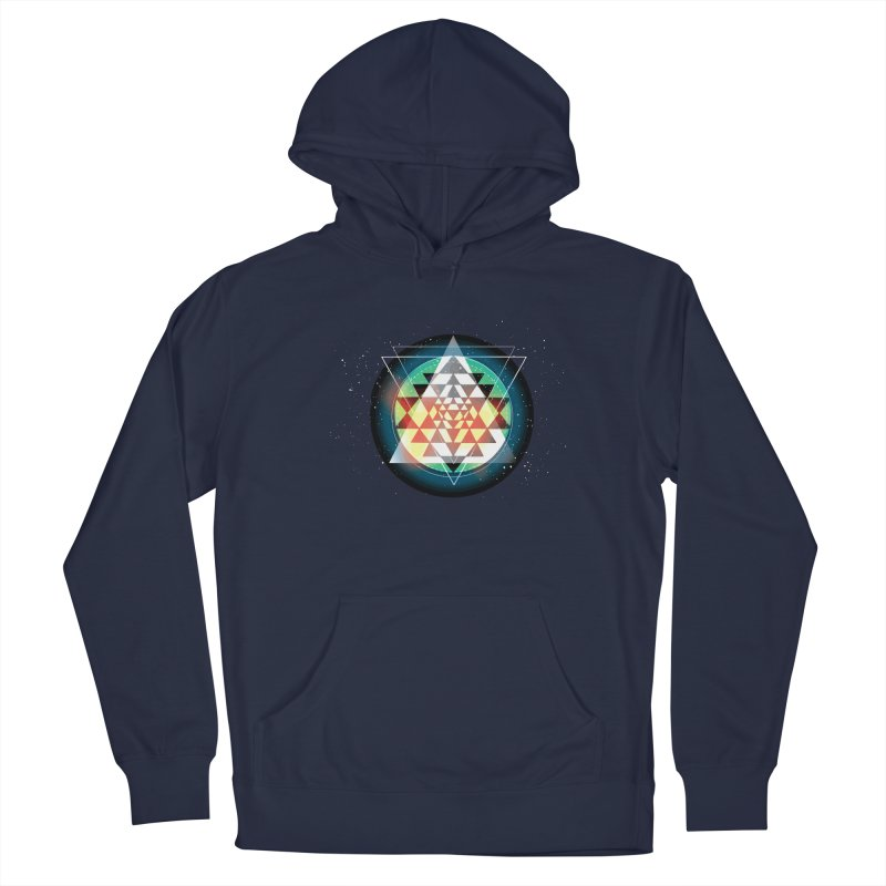 Sri Yantra Women's French Terry Pullover Hoody by