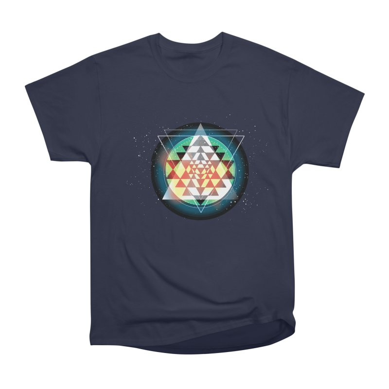 Sri Yantra Men's Heavyweight T-Shirt by