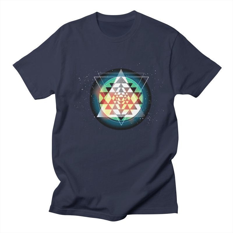 Sri Yantra Men's Regular T-Shirt by