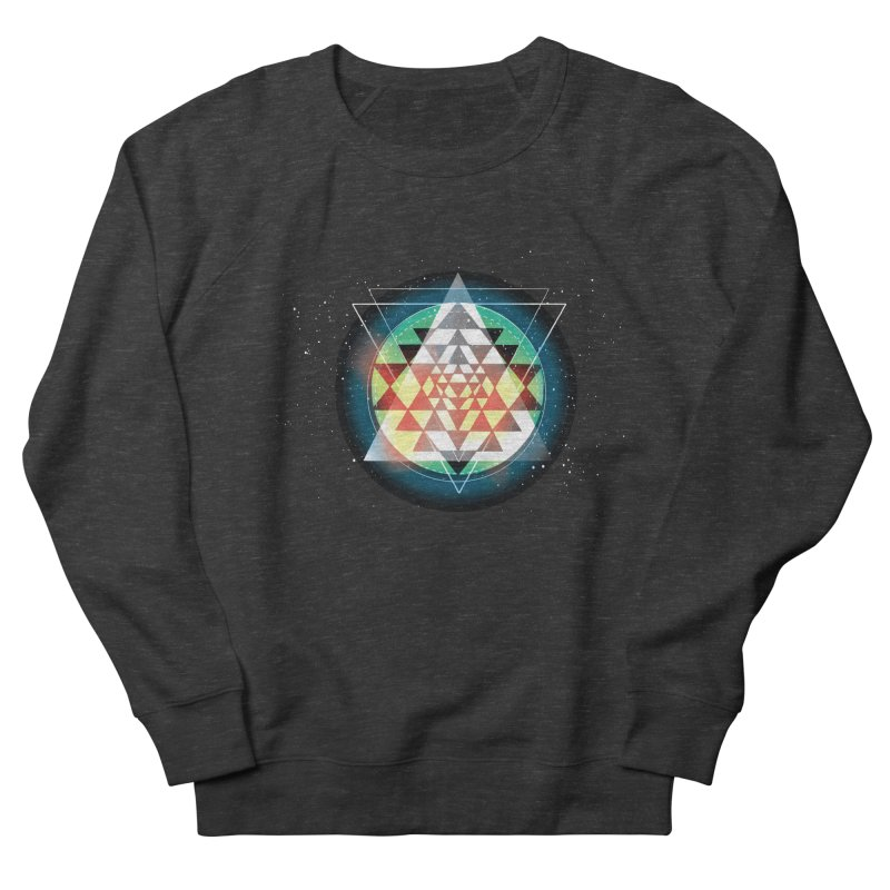 Sri Yantra Men's French Terry Sweatshirt by