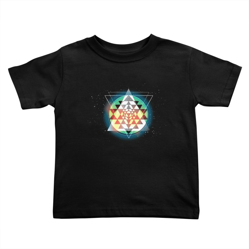 Sri Yantra Kids Toddler T-Shirt by