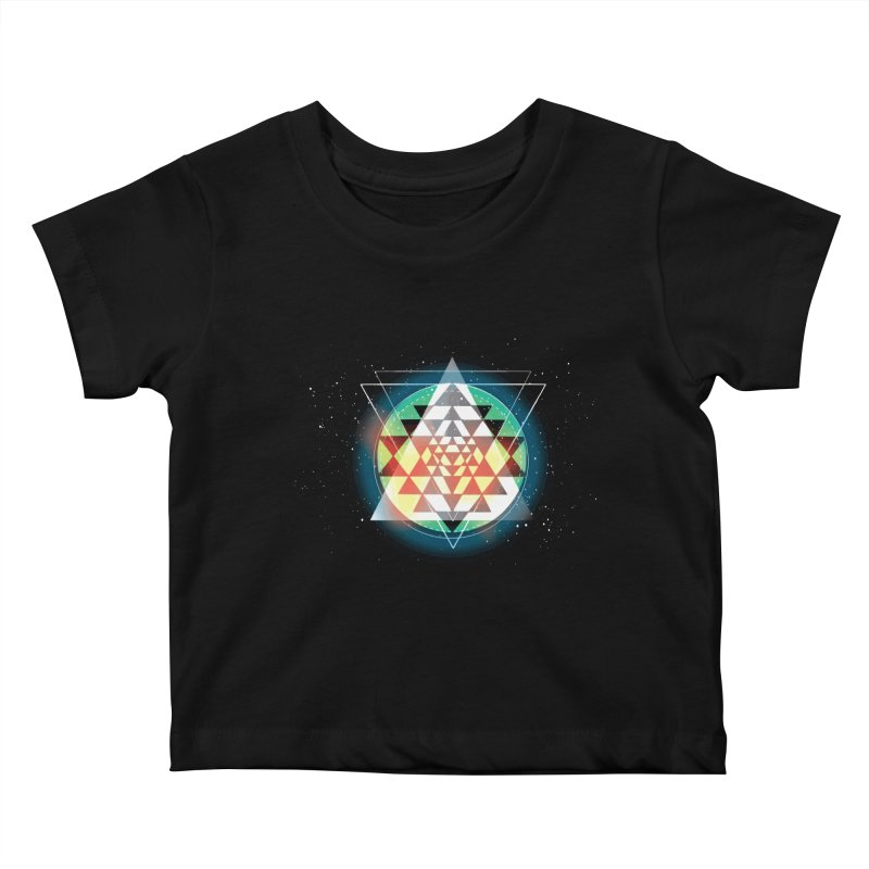 Sri Yantra Kids Baby T-Shirt by