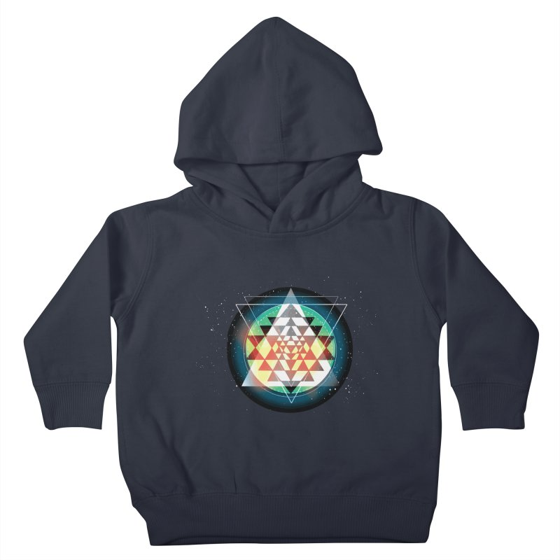 Sri Yantra Kids Toddler Pullover Hoody by