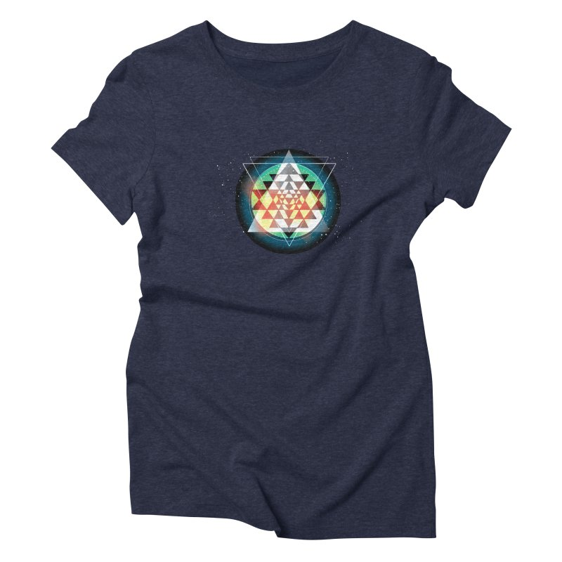 Sri Yantra Women's Triblend T-Shirt by