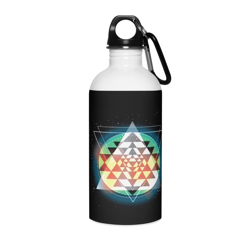 Sri Yantra Accessories Water Bottle by