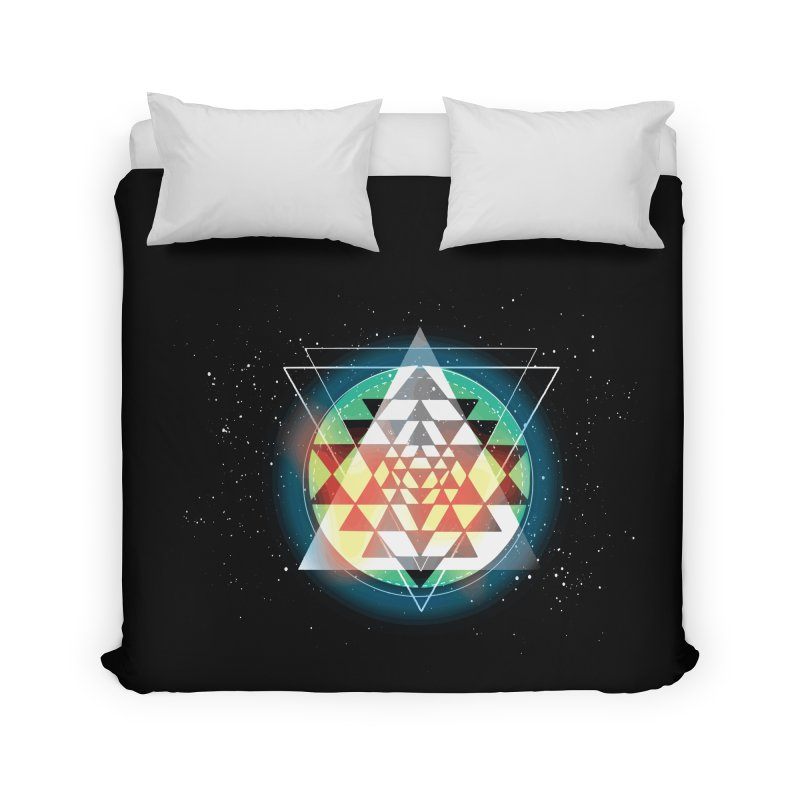 Sri Yantra Home Duvet by