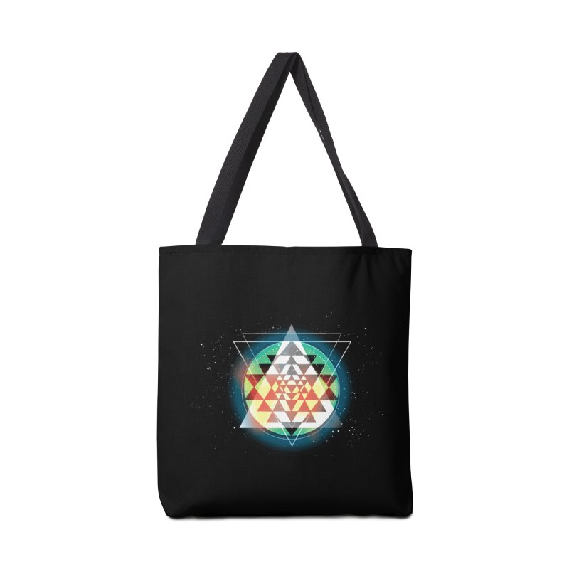 Sri Yantra Accessories Bag by