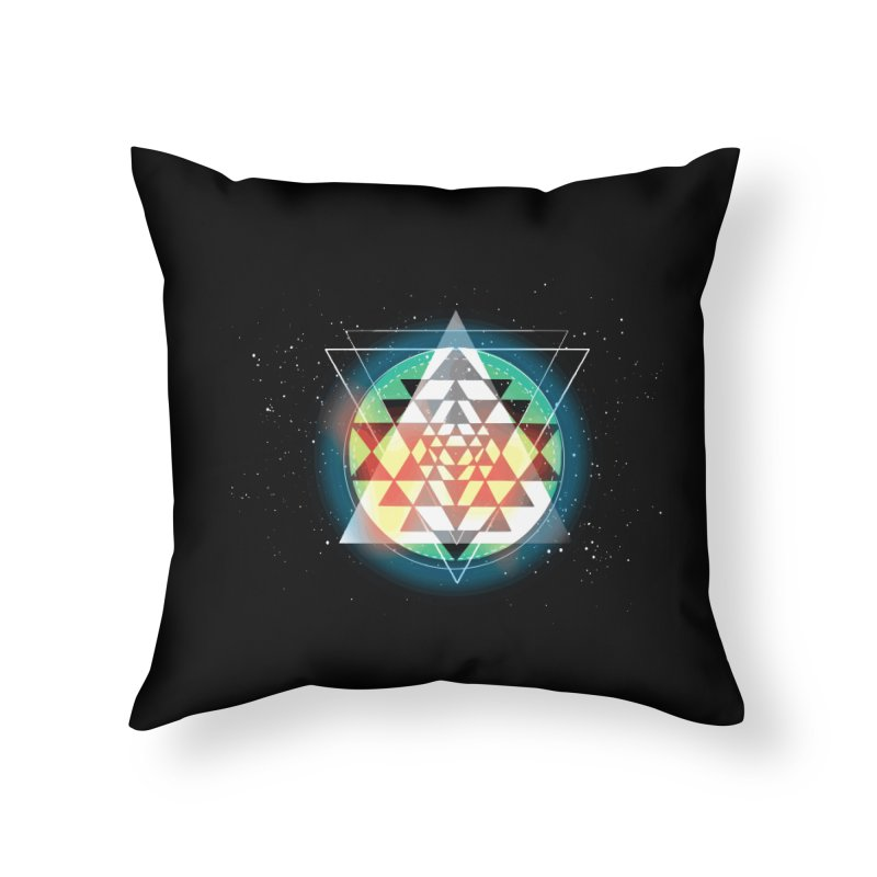 Sri Yantra Home Throw Pillow by