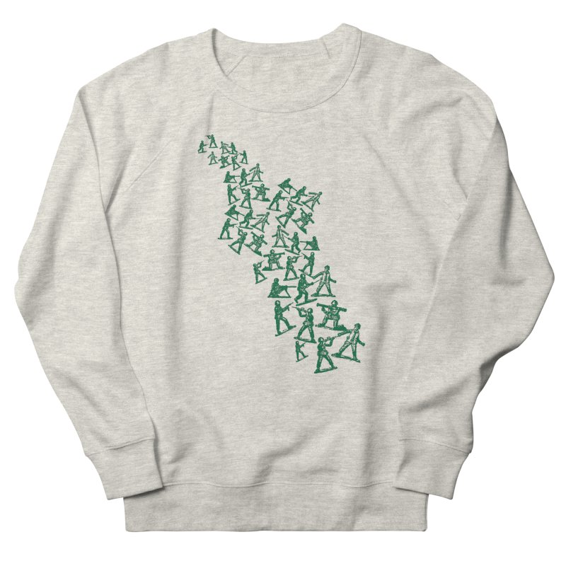 Toy Army Men Women's Sweatshirt by