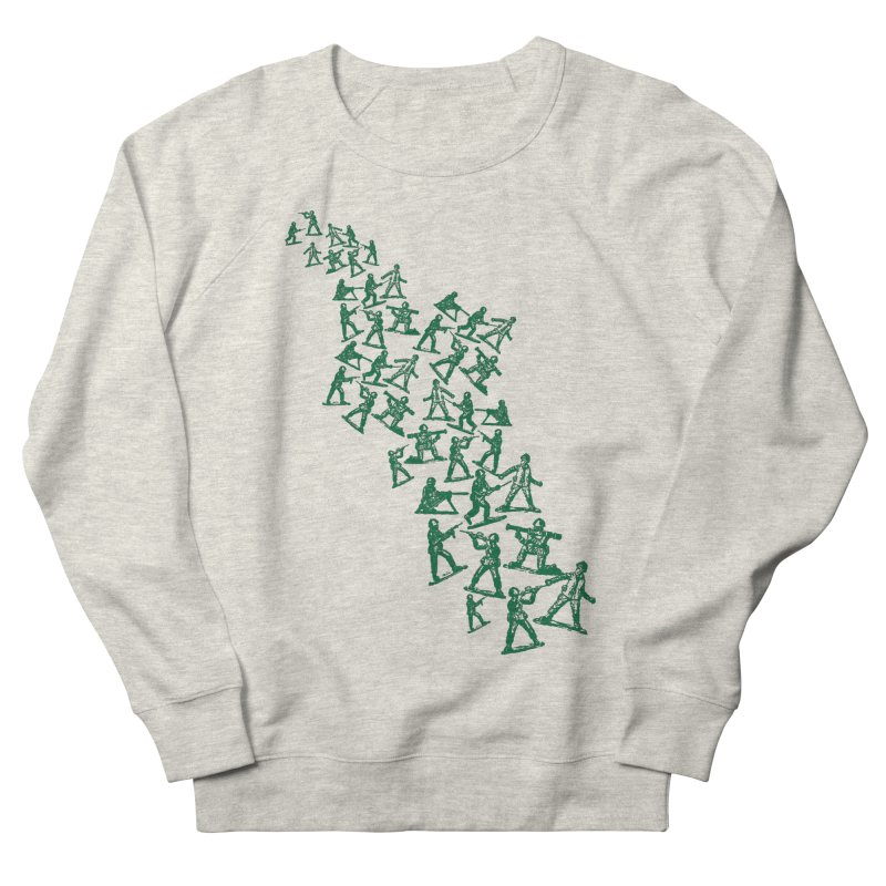 Toy Army Men Women's French Terry Sweatshirt by