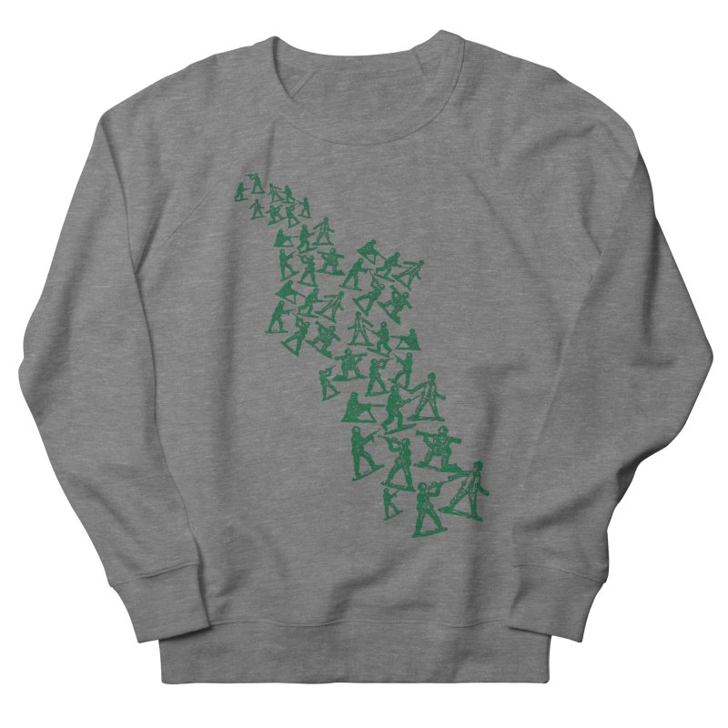 Toy Army Men Men's French Terry Sweatshirt by