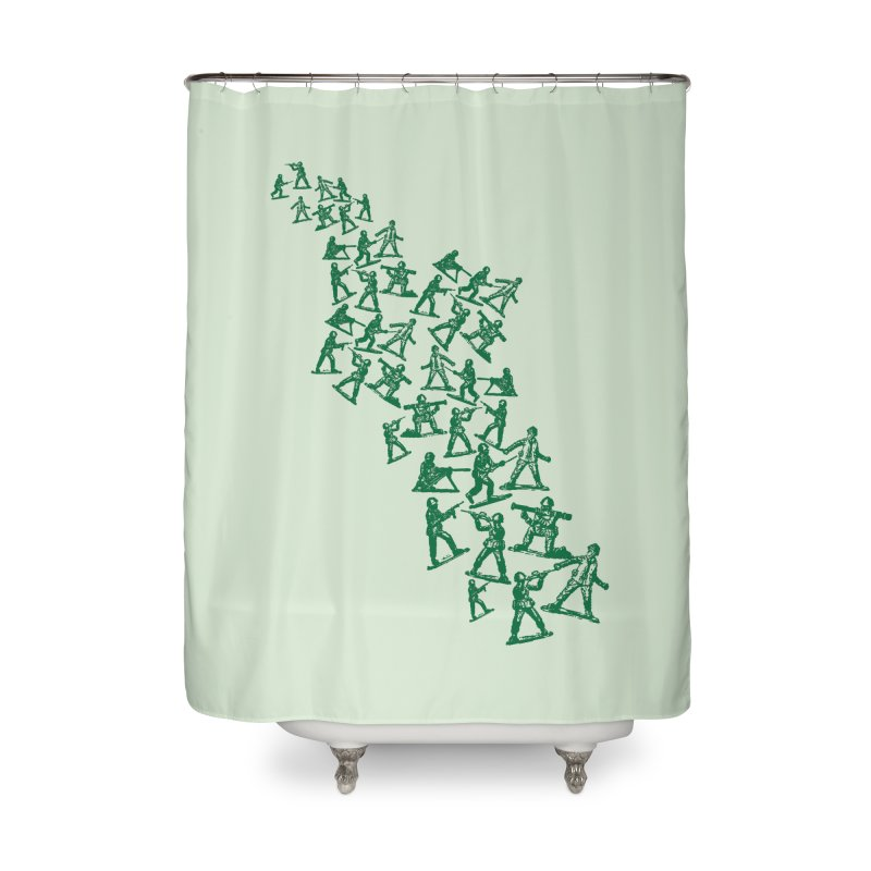 Army Men Home Shower Curtain by